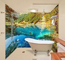 3D Mountain autumn 6437 WallPaper Bathroom Print Decal Wall Deco AJ WALLPAPER UK