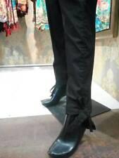 Pakistano Indiano 100% Cotton Pantaloni,Bianco & Nero Colore Shalwar con il Nodo