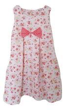 Girls Floral Cotton Dress Party Dress Summer Dress Vintage Dress-UK Seller