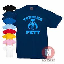 infantil Fett Camiseta 1-4 años Cazador De Recompensas Boba Divertido