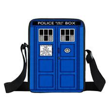Doctor Who Tardis London Landmarks Lady Liberty Messenger Bag Mini Shoulder Bags