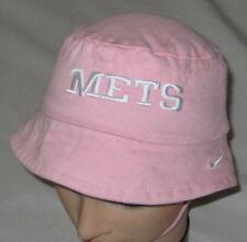 """Nike """"METS"""" Pink 12 MONTHS w Brim & Chin Strap Hat"""