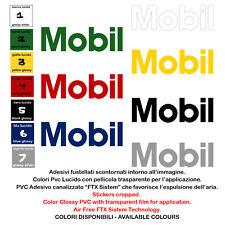 adesivi prespaziati auto moto MOBIL sticker sponsor helmet tuning 4 pz. cm.10-15