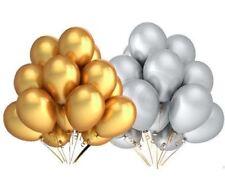 22.9cm variés Metalique ballons 30 PIÈCES OR ARGENT anniversaire Tout Occasion