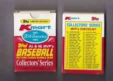 1982 Topps Kmart Set For Sale Ebay