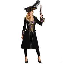 Mot - Damen Kostüm Piratenmantel Piratin Karneval Fasching