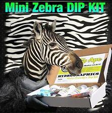 Dip Ape Mini Zebra Black & Clear Hydrographic Water Transfer Hydro Dip Kit