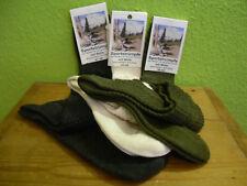 1-2 P. 35-49 Kniebundstrümpfe anthrazit, loden grün, natur Trachtensocken Tracht