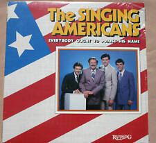 1983 THE SINGING AMERICANS Everybody Ought To Praise His Name vinyl LP M- +bonus