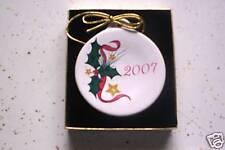 FIESTA CHRISTMAS ORNAMENT holly & stars 2007 1ST sale