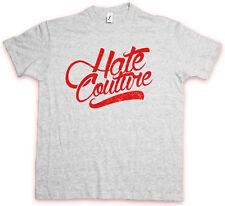 Classic logotipo HC Hate Couture t-shirt rockabilly tatuaje fashion hip-hop FTW Shirt