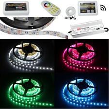 5-35m LED Streifen RGBW RGB+W 4in1 24V Strip Band + Netzteil+MiLight 4-Zone WLAN