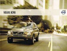 Volvo XC90 2007-08 UK Market Sales Brochure 3.2 V8 D5 SE Sport Executive