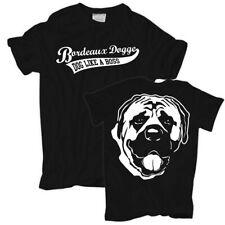 Männer T-Shirt Bordeaux Dogge hunde dogs züchter rasse haustier welpen