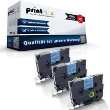 3x Kompatible Drucker Schriftbänder für Brother TZE541 18mm x 8m Patronen-Drucke