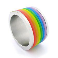 Rainbow Orgoglio ACCIAIO 1 ANELLO