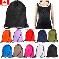 Backpack Drawstring Carry Bag Gym Picnic Camp School Travel Sport Swim Hike Bike