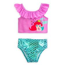 Disney Store Princess Ariel Two Piece Baby Swimsuit 3 6 9 12 18 24 Months