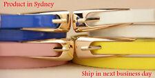 Women Fashion High Quality Waist Belt Dress Candy Colour Faux Leather Waistband