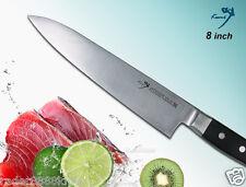 Japanese VG10 Steel Chef's knife 8 inch Meat Slicer Polishing Blade Full-Tang