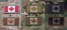 Mil Spec Monkey MSM Canadian Flag Patch-Multicam-Woodland-Desert-SWAT-ACU-Color
