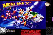 RGC Huge Poster - Mega Man X2 Super Nintendo SNES BOX ART X1 X2 X3 - MMA009