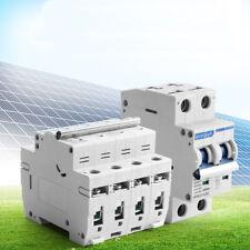 Circuit Breaker 2P 500V 4P 1000V 6A 10A 16A 32A 50A 63A DC Photovoltaic MCB