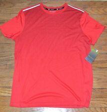 TekGear Cooltek Tek Red Short Sleeve T-Shirt Quick Dry Wicking Material