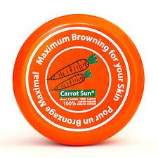 CARROT Sun Tan Accelerator Tanning Cream Lotion  L-Tyrosine, Carrot Oil, & Henna