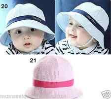 Girl Boy Toddler Child Bucket Hat With String