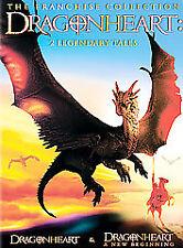 Dragonheart: 2 Legendary Tales (DVD, 2004)  Dennis Quaid, Sean Connery