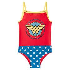 DC Comics Wonder Woman Supergirl Batman Official Gift Girls Swim Suit Costume
