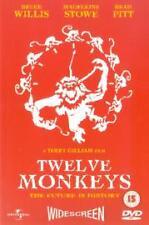 Twelve Monkeys (DVD, 1999) - Quality Rigid Clear Casing