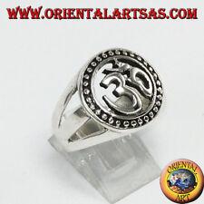 Ring Silber 925 , Silbe OM den mehr Sacra