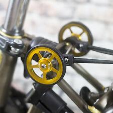 Super Léger Facile Roues + Titane Boulons Pour BROMPTON Gold dans le monde entier
