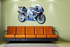 Wandtattoo Motorrad Color Motiv 2 Wandsticker Aufkleber