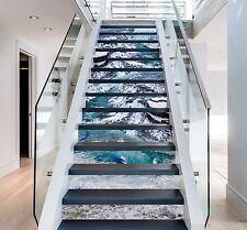3D Delphin Fälle 85 Stair Risers Dekoration Fototapete Vinyl Aufkleber Tapete DE