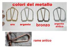 1 fermasoldi A SCATTO  artigianale  PORTA FERMA SOLDI money clip crafted