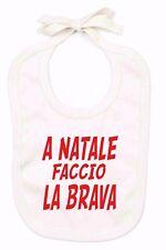 BAVAGLINO ORGANICO COLOR NATURAL PER NATALE: BRAVI