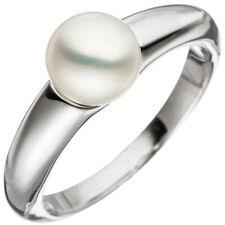 Anello da donna argento 925 1 acqua dolce perla DI PERLINE IN