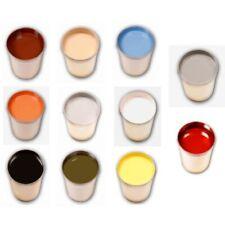 18,99€/l 1 Liter PU Bodenfarbe Betonfarbe gelb rot grün weiß schwarz blau beige