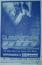Queensryche San Diego 1999 Concert Tour Poster - Progressive Metal Music