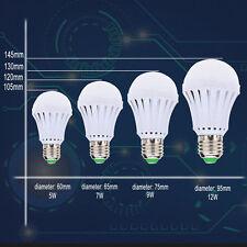 Smart LED 7W 9W 12W Emergency Light Bulb Rechargeable Intelligent Lamp Hot