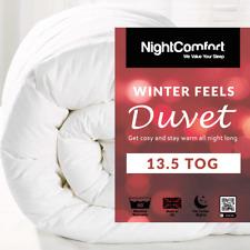 13.5 Tog Duvet Winter Feels Warm Quilt Duvet Single/Double/King Size