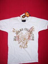 Tee Shirt neuf manches courtes DIA enfant taille 8 ans coloris blanc