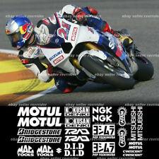 motogp decal sponsor kit for suzuki gsxr models