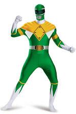 Mighty Morphin Green Power Ranger Bodysuit Tween/Adult Costume