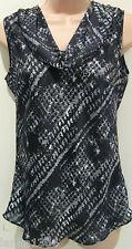 Alex & Co Black & White Polyester Top (NEW) UK size 10 £40.00