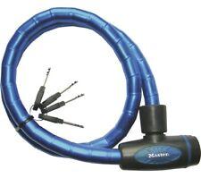Master Lock Kabelschloss 8228 PanzR blau 18 mm x 100 cm