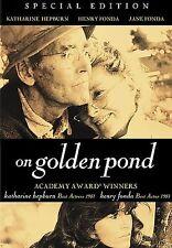 On Golden Pond (Special Edition), Good DVD, Katharine Hepburn, Henry Fonda, Jane
